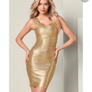 Venus Silver/Metallic Dress